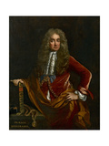 Elias Ashmole, C. 1681 - 1682 Giclee Print by John Riley