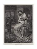 Elaine Giclee Print by John Melhuish Strudwick