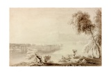 Landscape, Classical Composition Giclee Print by John Martin
