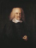Portrait of Thomas Hobbes (Westport, 1588-Hardwick Hall, 1679), English Philosopher, 1669-1670 Photographic Print by John Michael Wright