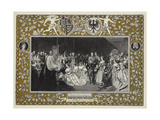 Marriage of the Princess Royal to Prince Fredrick William of Prussia Giclee Print by John Phillip