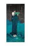 Circe Invidiosa, 1892 Giclée-Druck von John William Waterhouse