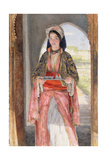 An Eastern Girl Carrying a Tray, 1859 Giclee Print by John Frederick Lewis