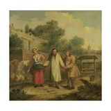 Hob Taken Out of Ye Well, C.1726 Giclee Print by John Laguerre