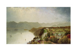 View of Cozzen's Hotel Near West Point, Ny, 1863 Giclee Print by John Frederick Kensett