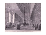 Interior of the Painted Chamber, Westminster Giclee Print by John Fulleylove