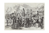 The Demonstration in Hyde-Park Giclee Print by John Leech