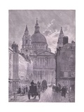 St Paul Cathedral, London Giclee Print by John Fulleylove