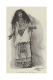 Montezuma's Daughter, by H Rider Haggard Giclee Print by John Seymour Lucas