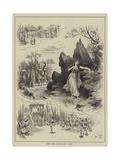 Scenes from Gounod's Opera Sapho Giclee Print by John Jellicoe