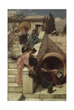 Diogenes (D.C.320 BC), 1882 Giclee Print by John William Waterhouse