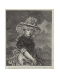 Her Royal Highness the Princess Sophia When a Child Giclee Print by John Hoppner