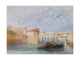 Angers, 1826-28 Giclee Print by Joseph Mallord William Turner