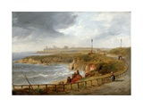Tynemouth from Cullercoats Giclee Print by John Wilson Carmichael