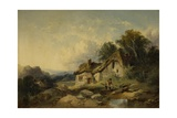 Near Hailsham, Sussex, 1859 Giclee Print by Joseph Horlor
