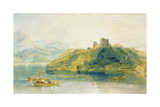 Chateau De Rinkenberg, on the Lac De Brienz, Switzerland, 1809 Giclee Print by Joseph Mallord William Turner