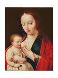 The Virgin Breastfeeding the Infant Christ Giclée-Druck von Joos Van Cleve