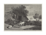 A Stackyard Giclee Print by Joseph Mallord William Turner