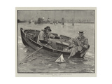 Naval Manoeuvres, First Lessons in Tactics Giclee Print by John Robertson Reid