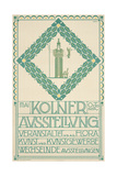 A Poster for the 1905 Cologne Art Festival, 1905 Giclee Print by Joseph Maria Olbrich