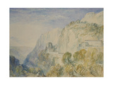 Mount Lebanon and the Convent of St Antonio Giclee Print by Joseph Mallord William Turner