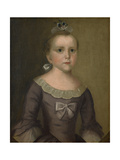 Portrait of Abigail Gowen, 1763 Giclee Print by Joseph Badger