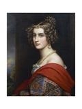 Portrait of Amalia Von Schintling, 1831 Giclee Print by Joseph Karl Stieler