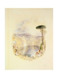 Lake Nemi, C.1835 Giclee Print by Joseph Mallord William Turner