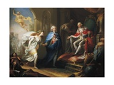 Manuel Godoy Presents Peace to Charles Vi, 1796 Giclee Print by Jose Aparicio