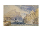 Boscastle, Cornwall, C.1824 (Watercolour over Graphite with Pen and Black Ink) Giclee Print by Joseph Mallord William Turner