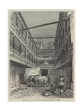 The Four Swans Inn-Yard, Bishopsgate-Street Within Giclee Print by John Wykeham Archer