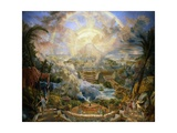 The Mount of Congregation, 1818 Giclee Print by Joseph Michael Gandy