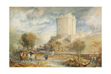 Borthwick Castle, 1818 Giclee Print by Joseph Mallord William Turner
