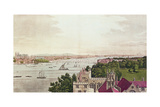 View of London from Lambeth, Engraved by J.C Stadler (Fl.1780-1812) 1795 Giclee Print by Joseph Farington