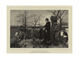 Homeless and Homewards Giclee Print by John Robertson Reid