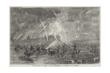 The Bombardment of Sveaborg, Rocket Boats Giclee Print by John Wilson Carmichael