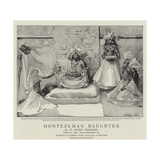 Montezuma's Daughter Giclee Print by John Seymour Lucas