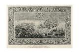 The Armada Flying to Calais, 1739 Giclee Print by John Pine