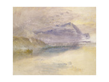 Evening: Cloud on Mount Rigi, Seen from Zug, C.1841 Giclee Print by Joseph Mallord William Turner