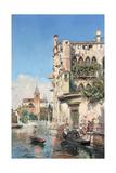 Palazzo Contarini, Venice Giclee Print by Jose Gallegos Arnosa