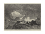 A Snowstorm on Mont Cenis Giclee Print by Joseph Mallord William Turner