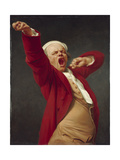 Self-Portrait, Yawning, 1783 Giclee Print by Joseph Ducreux