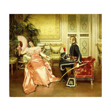 Flirtation Giclee Print by Joseph Frederick Charles Soulacroix