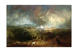 The Fifth Plague of Egypt Giclee Print by Joseph Mallord William Turner
