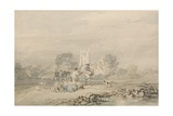 Autumn Sowing of the Grain, C.1794 Giclee Print by Joseph Mallord William Turner