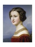 Portrait of Cornelia Vetterlein, 1828 Giclee Print by Joseph Karl Stieler