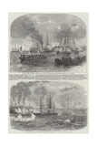 The Bombardment of Sveaborg Giclee Print by John Wilson Carmichael
