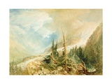 Valley of Chamouni, C.1808 Giclee Print by Joseph Mallord William Turner