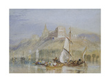 Montjean, C. 1830 (Watercolour with Bodycolour and Pen and Black and Brown Ink) Giclee Print by Joseph Mallord William Turner