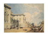 A View of Worcester College, 1803-04 (W/C over Graphite on Off-White Paper) Giclee Print by Joseph Mallord William Turner
